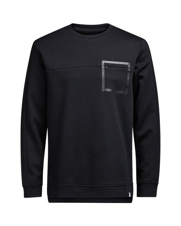 Jack & Jones Grafik- Sweatshirt in Black
