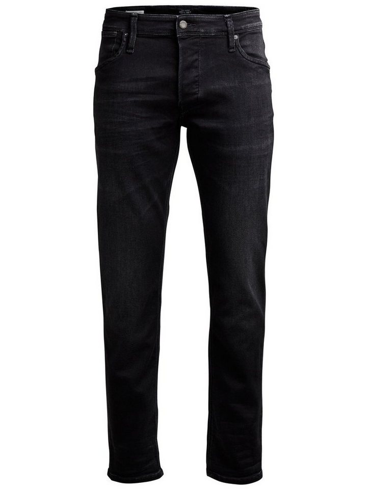 Jack & Jones Mike Dash Ge 784 Comfort Fit Jeans in Black Denim