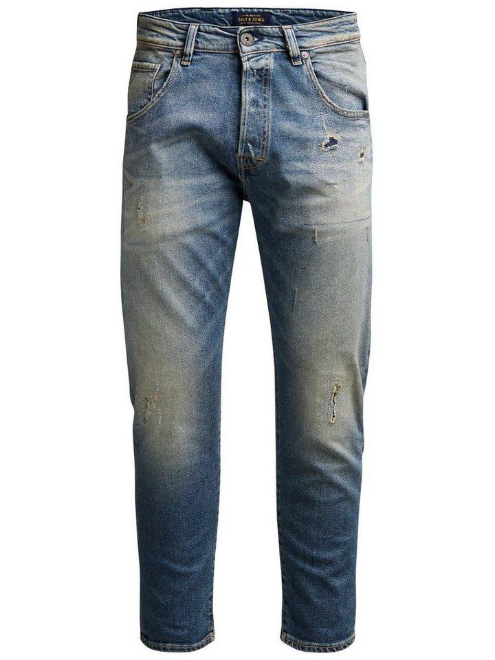 Jack & Jones Frank Leen BL 690 Anti Fit Jeans in Blue Denim