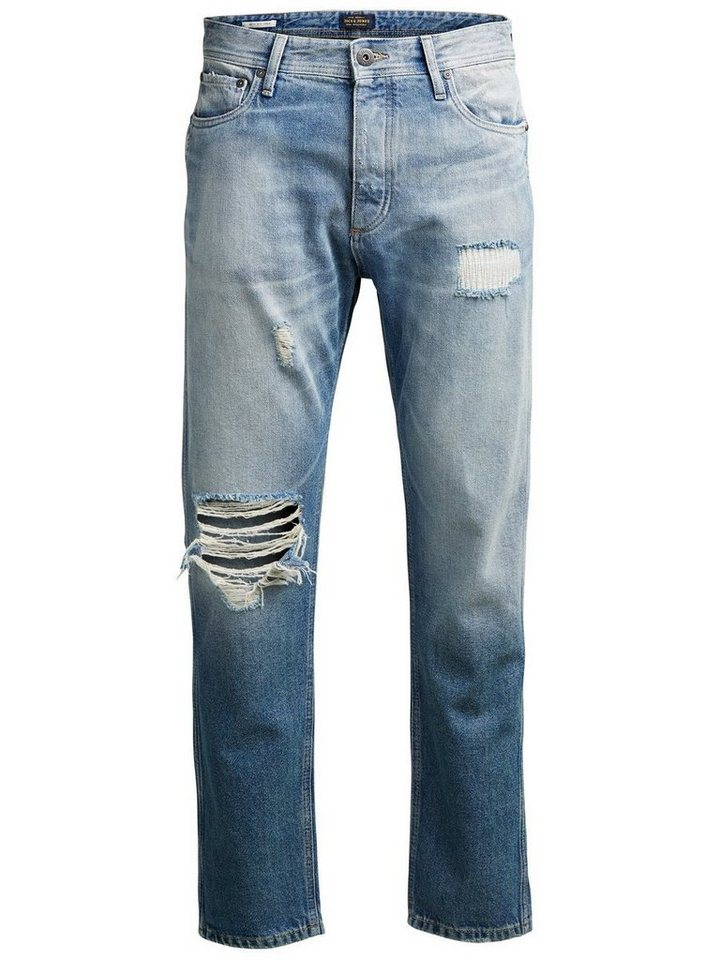 Jack & Jones Erik Original JOS 170 Anti Fit Jeans in Blue Denim