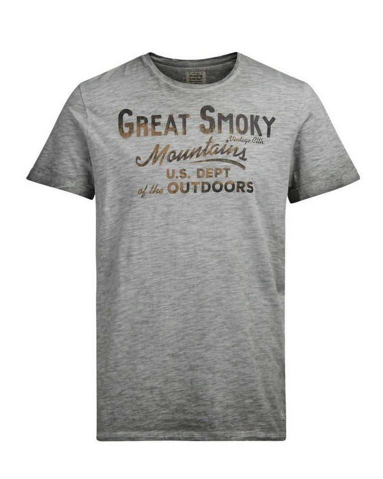 Jack & Jones Bedrucktes T-Shirt in Castor Gray