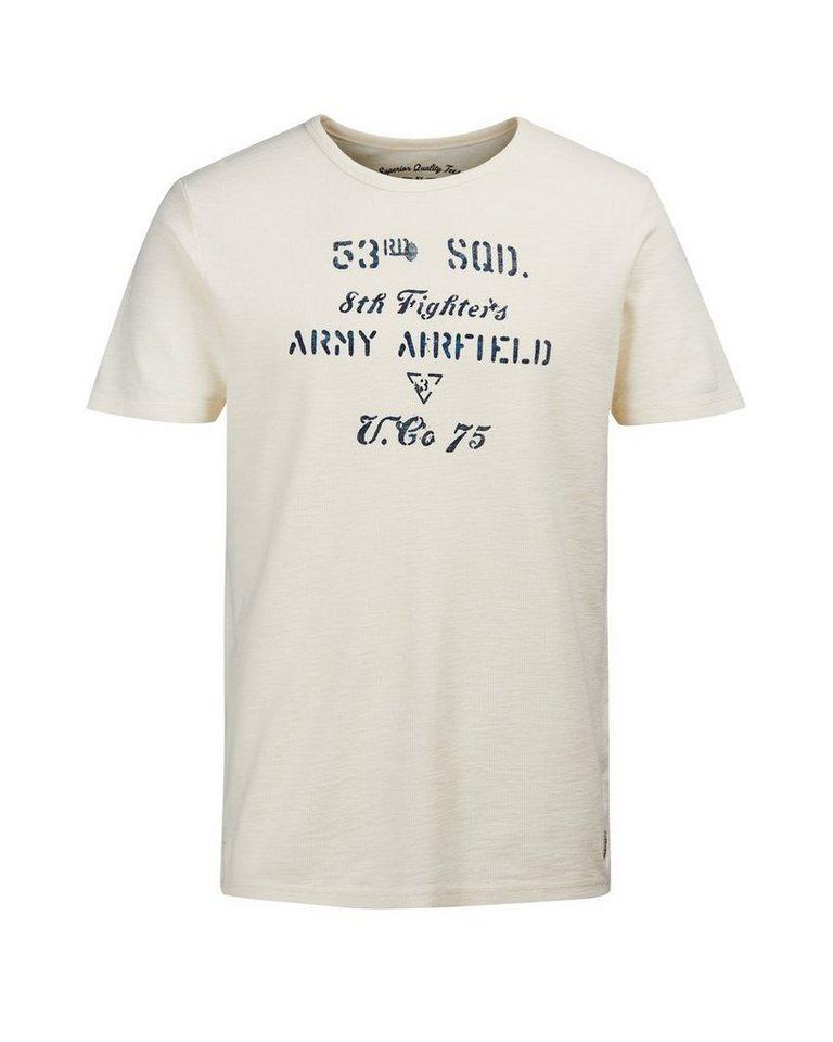 Jack & Jones Bedrucktes T-Shirt in WHISPER WHITE.