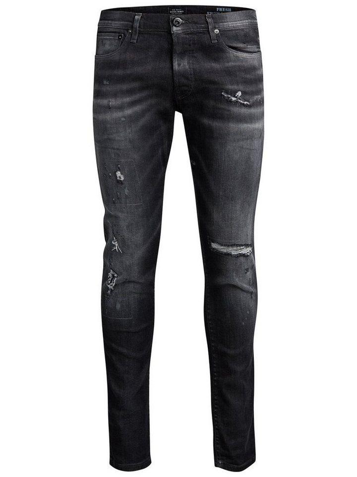 Jack & Jones Glenn Page BL 732 Slim Fit Jeans in Black Denim