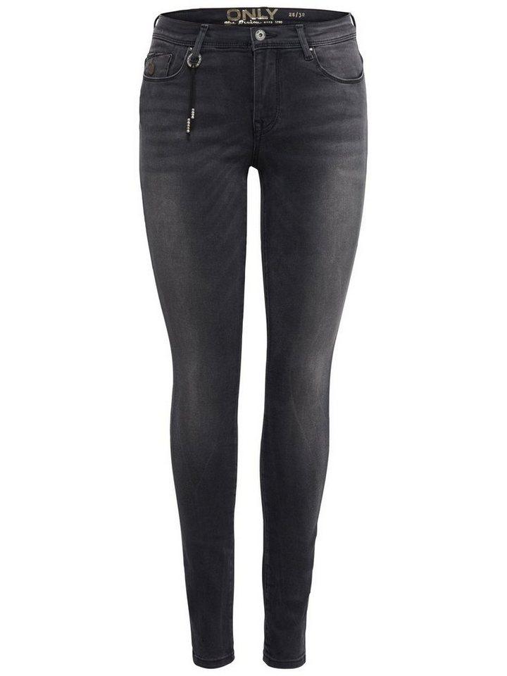 Only Shape reg Skinny Fit Jeans in Black