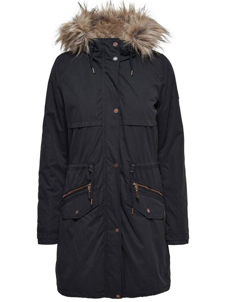 Only Warmer Parka in Black