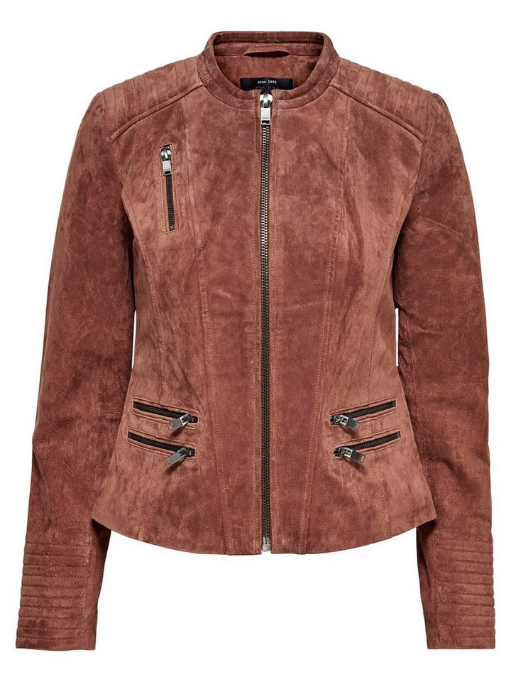 Only Wildleder- Jacke in Arabian Spice