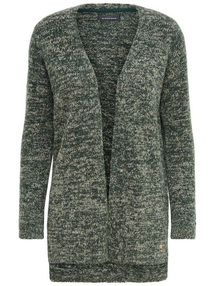 Only Lässiger Strick-Cardigan in Scarab