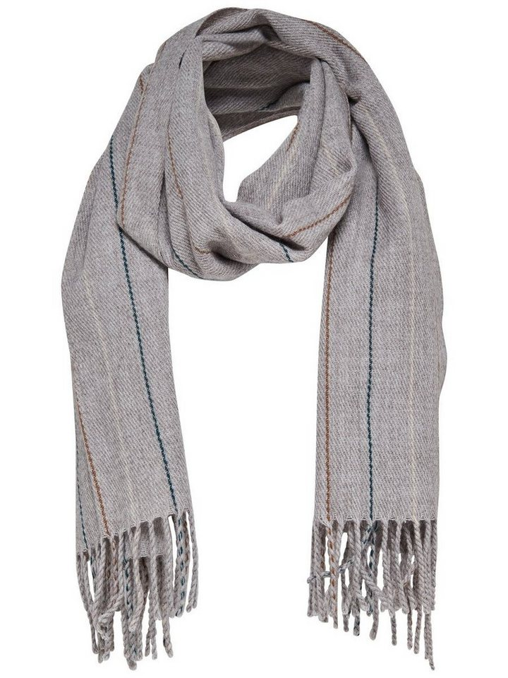 Only Woll- Schal in LIGHT GREY MELANGE