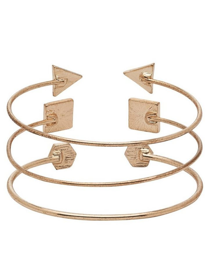 Only Detailliertes Armband in Gold Colour
