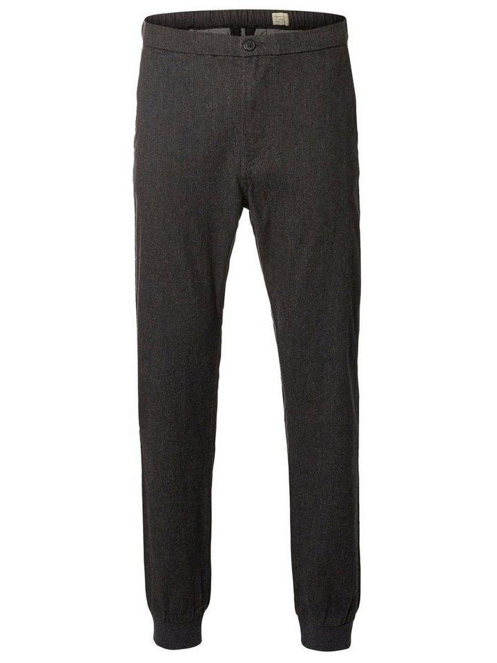 SELECTED Slim-Fit- Hose in DARK GREY