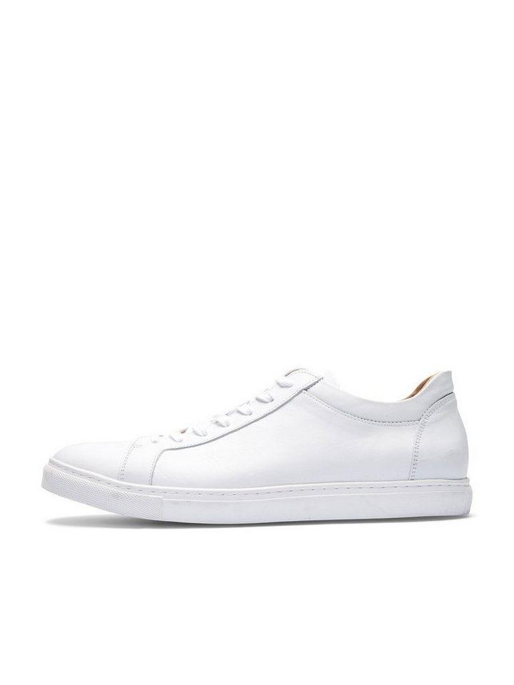 SELECTED Leder- Sneaker in White