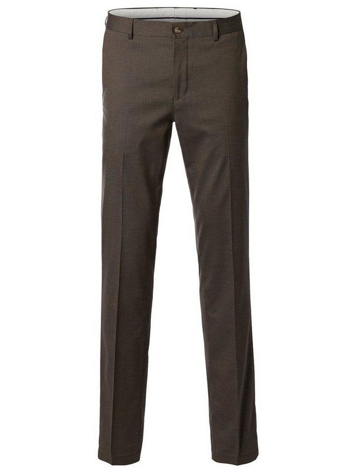 SELECTED Skinny-Fit- Hose in CAMEL