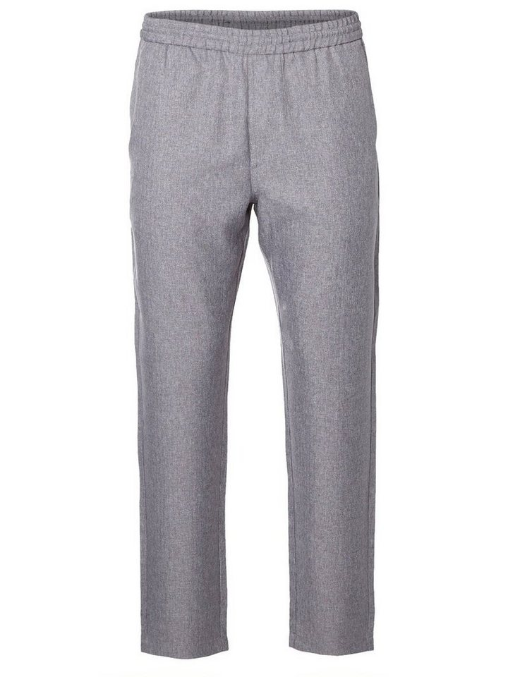 SELECTED Regular fit- Hose in GREY MELANGE
