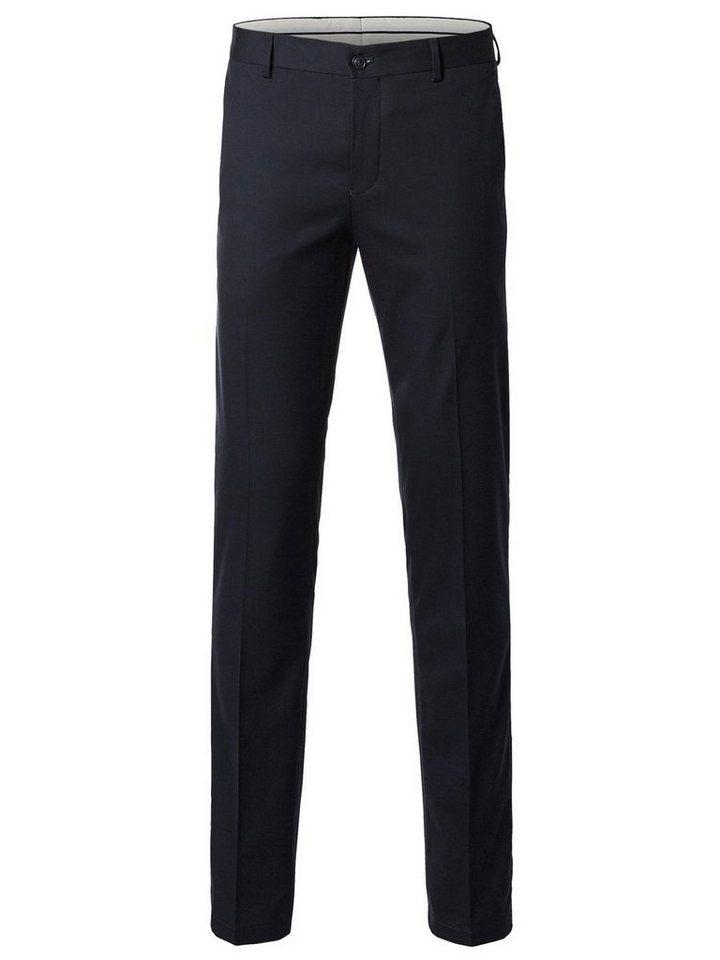 SELECTED Skinny-Fit- Hose in DARK NAVY.