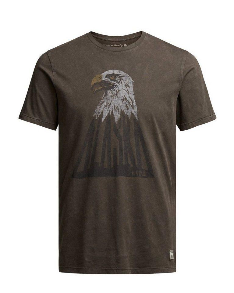 Jack & Jones Artwork- T-Shirt in Black Olive