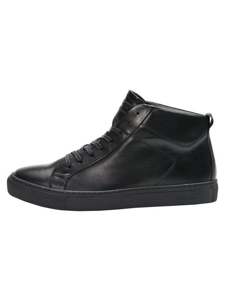 Jack & Jones Leder- Schuhe in Anthracite