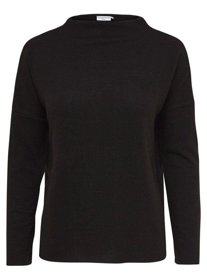 Only Einfarbiges Oberteil mit langen Ärmeln in Black