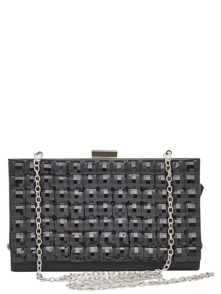 Only Quadratische Party- Tasche in Black