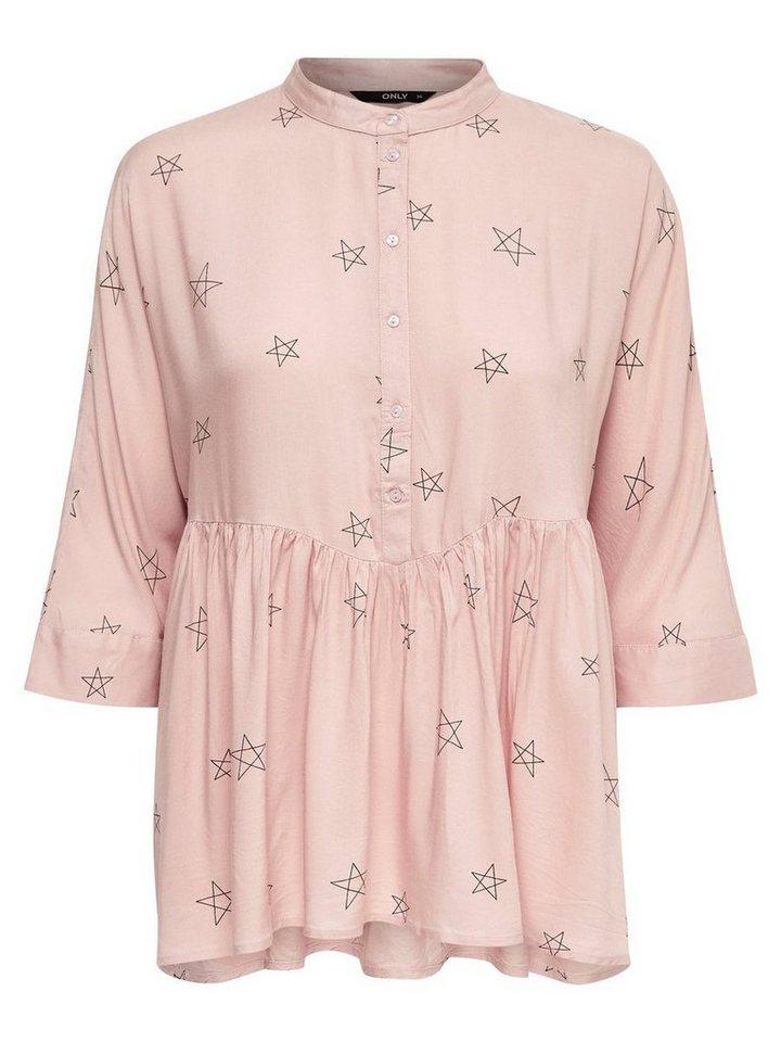 Only Detaillierte Bluse mit 2/4 Ärmeln in ROSE SMOKE
