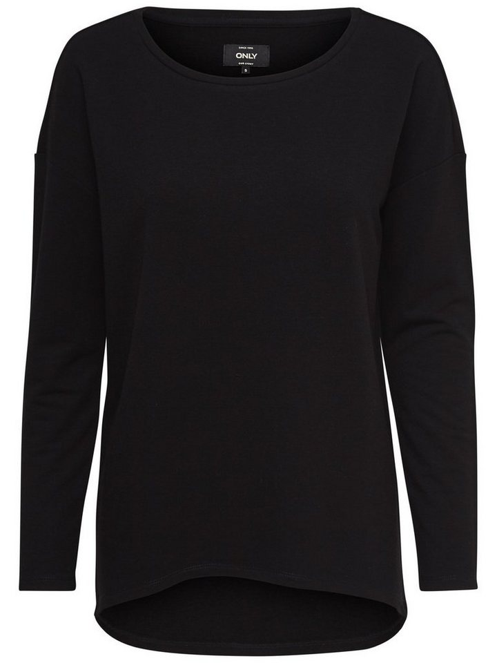 Only Detail- Sweatshirt in Black