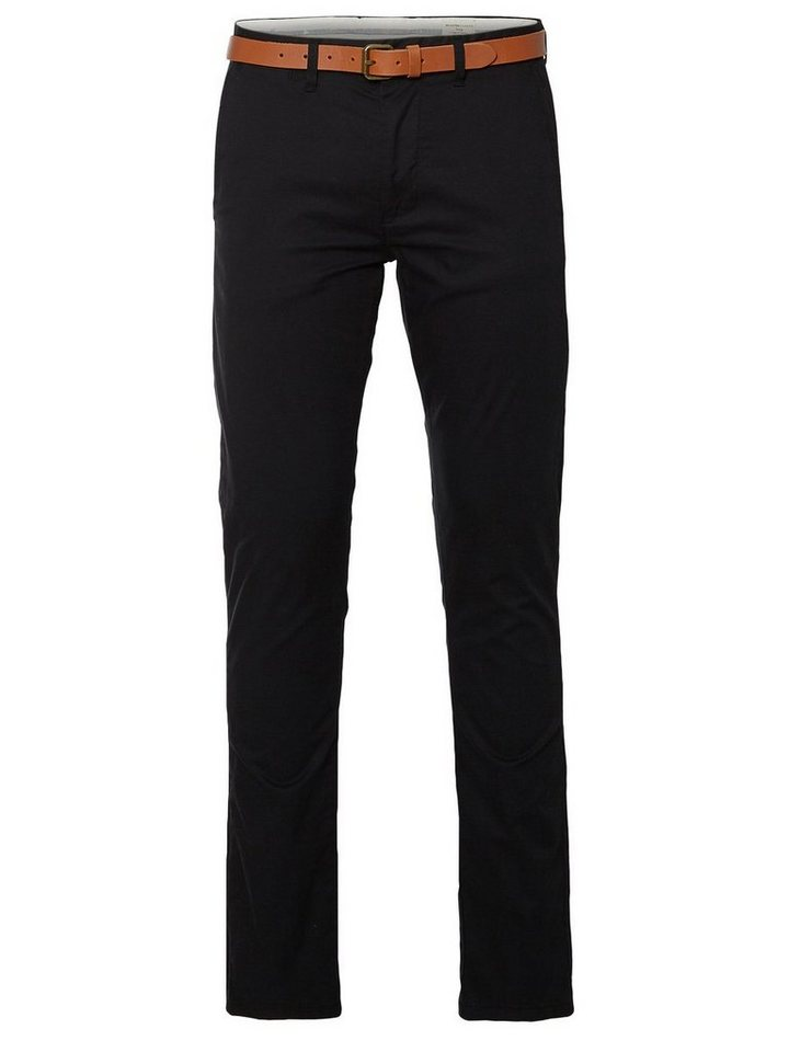 SELECTED Slim-Fit- Chino in Black