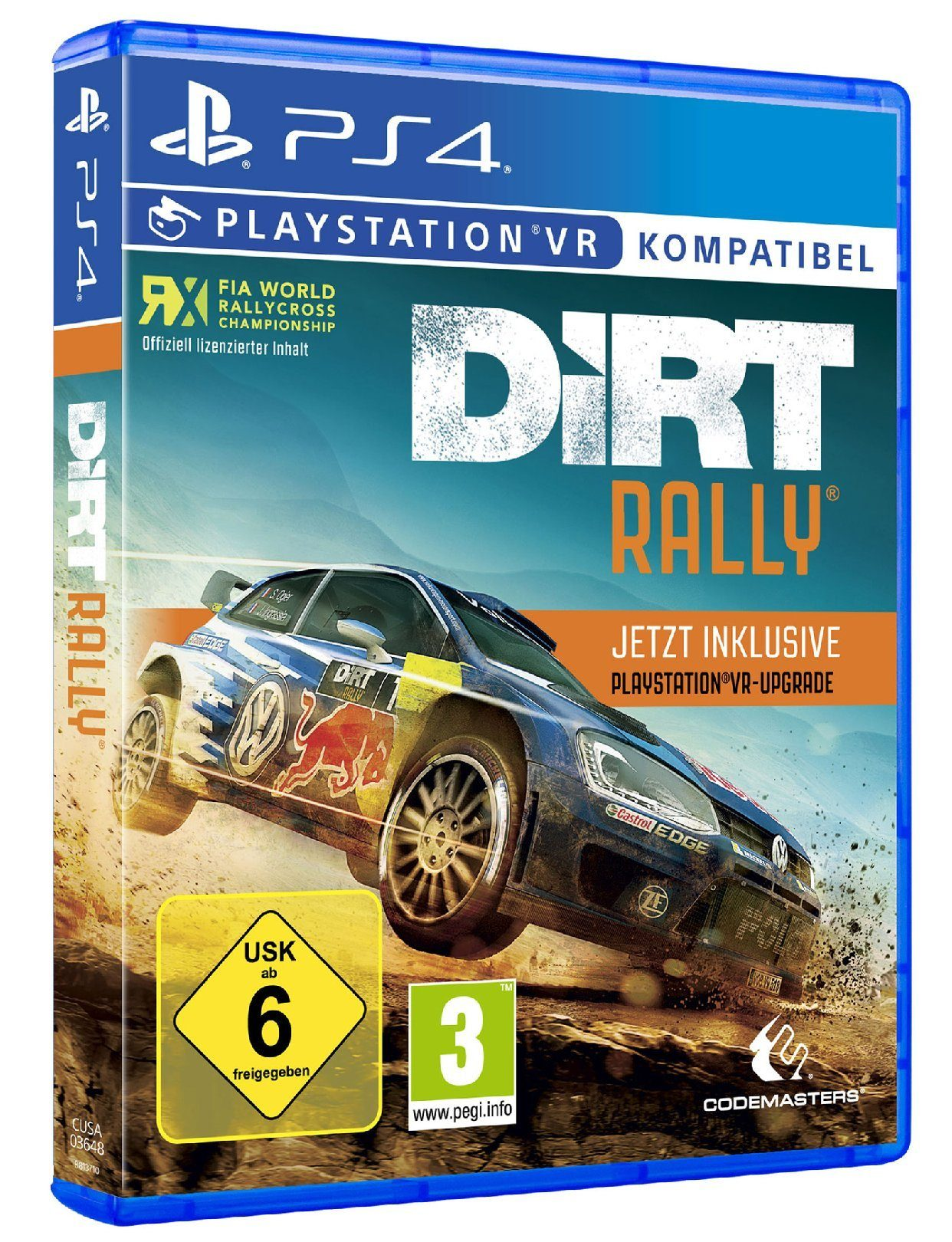 Koch Media DiRT Rally plus VR Upgrade »PS4«