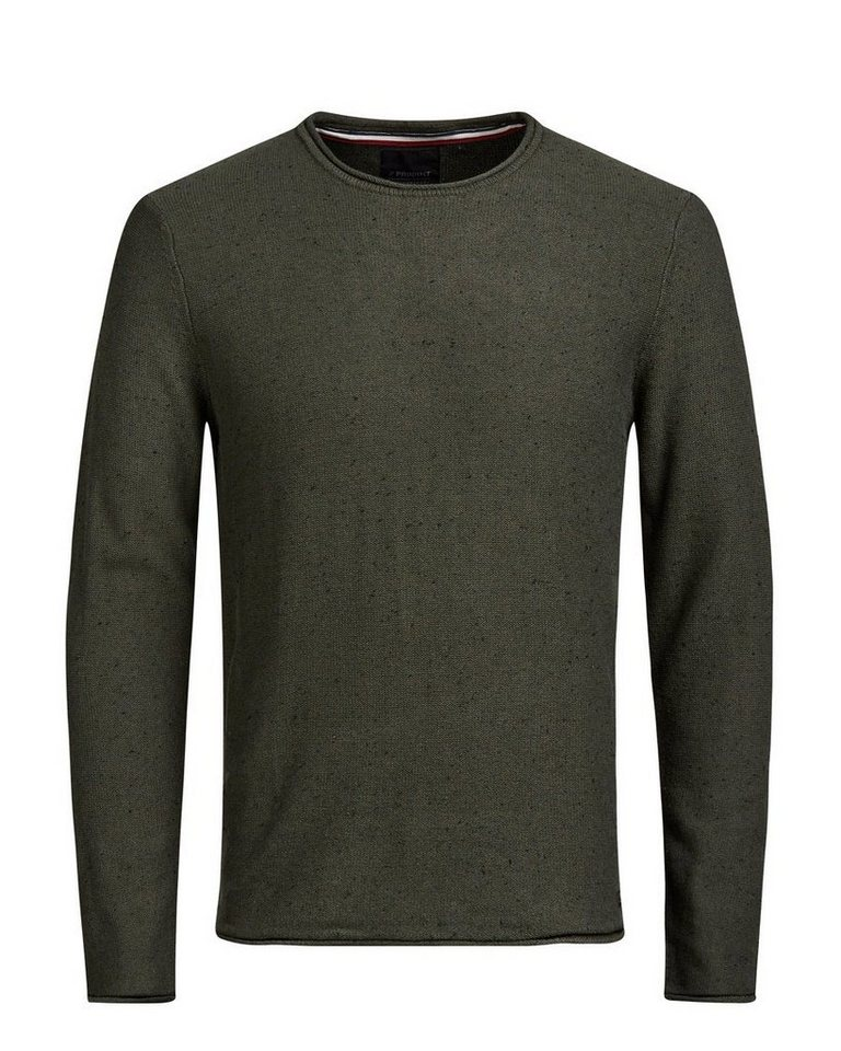 PRODUKT Crew Neck- Strickpullover in Rosin