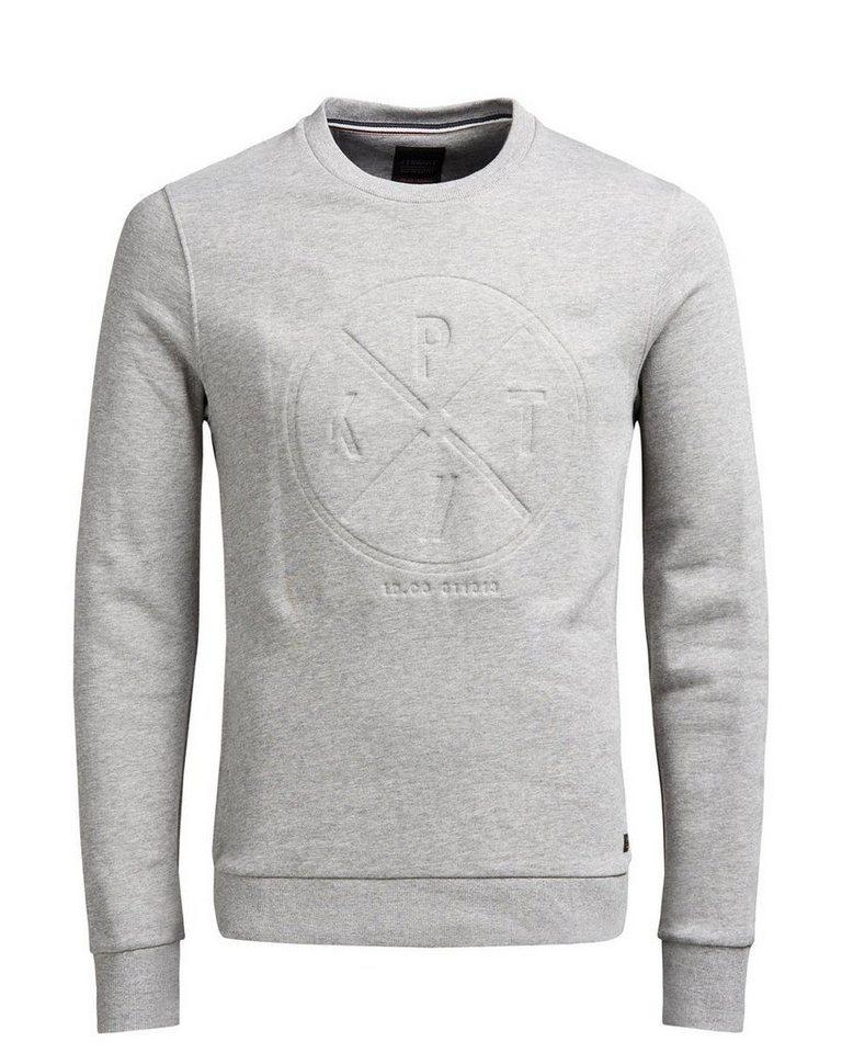 PRODUKT Männlicher Pullover in LIGHT GREY MELANGE