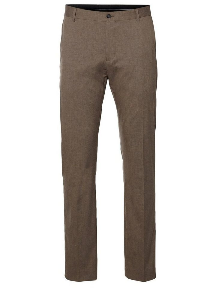 SELECTED Slim-Fit- Anzughose in Sand