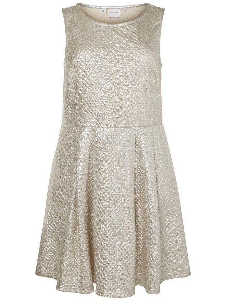 JUNAROSE Ärmelloses Kleid in Silver
