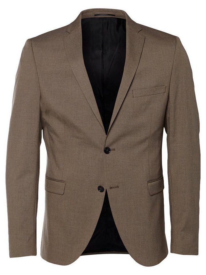 SELECTED Slim-Fit- Blazer in Sand
