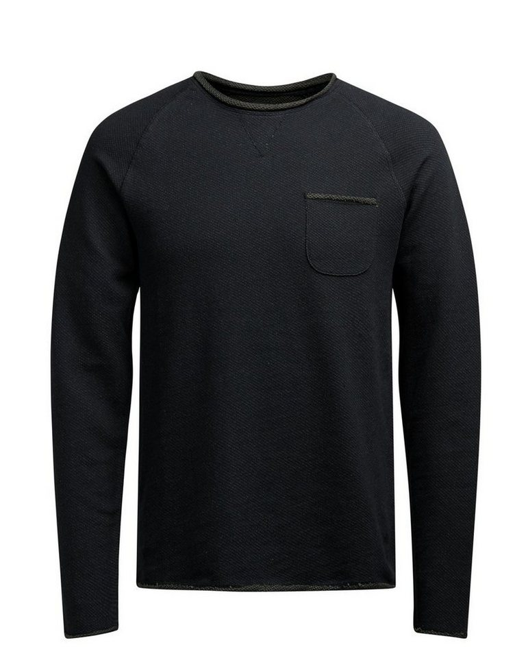 PRODUKT Crew Neck- Pullover in FOREST NIGHT