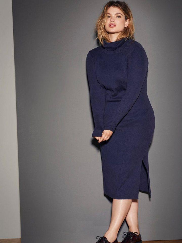 JUNAROSE Gestricktes Kleid in Black Iris