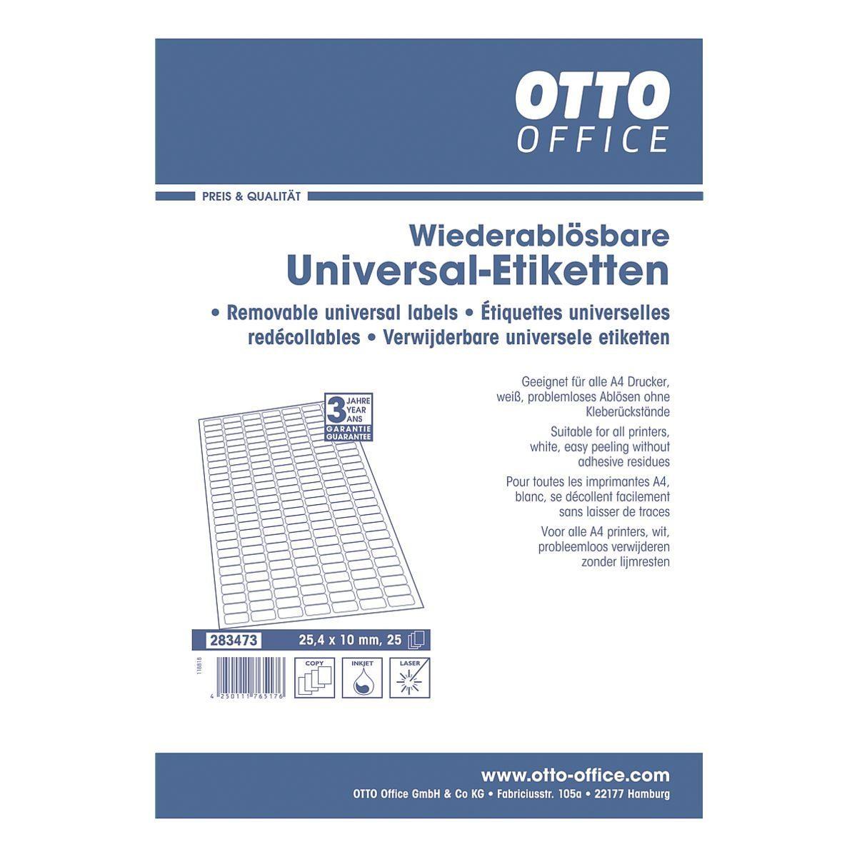 OTTO Office 4725er-Set Universal-Klebeetiketten