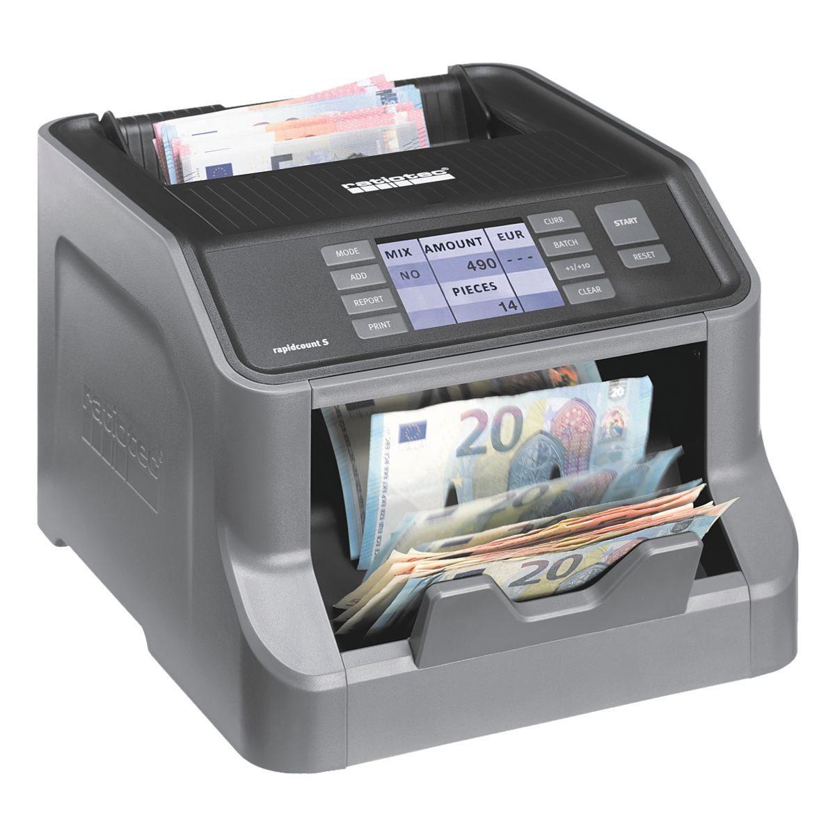 ratiotec Banknotenzählmaschine »rapidcount S 275«