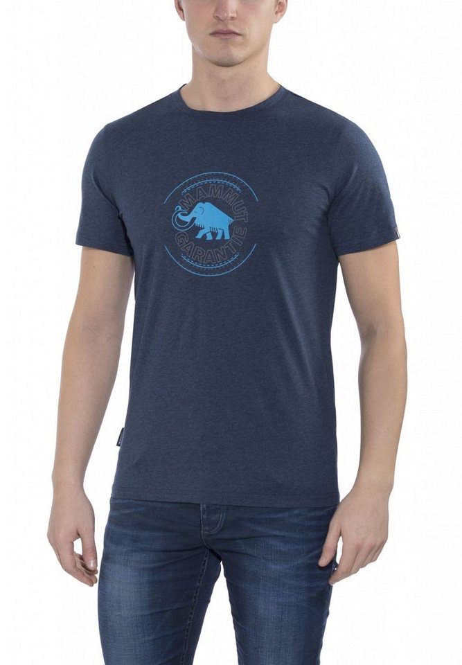 Mammut T-Shirt »Garantie T-Shirts Men« in blau