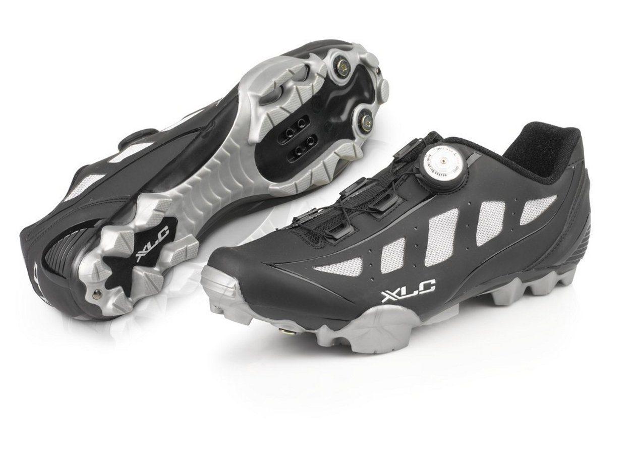 XLC Fahrradschuhe ProCB-M08 MTB Schuhe Herren  schwarz