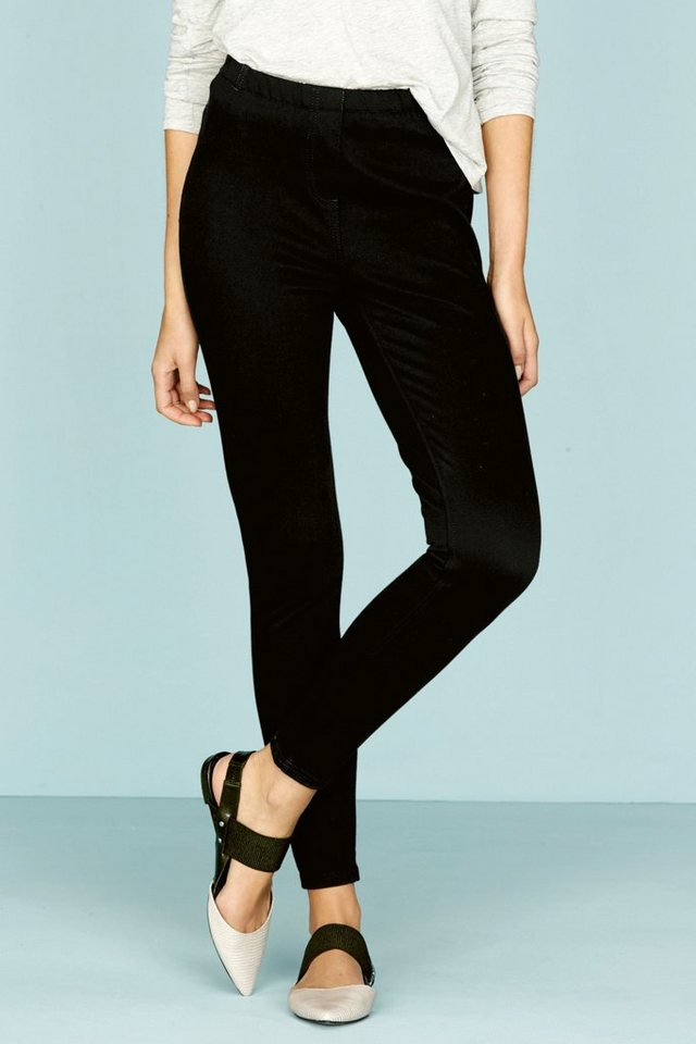 Next Denim-Leggings in Black