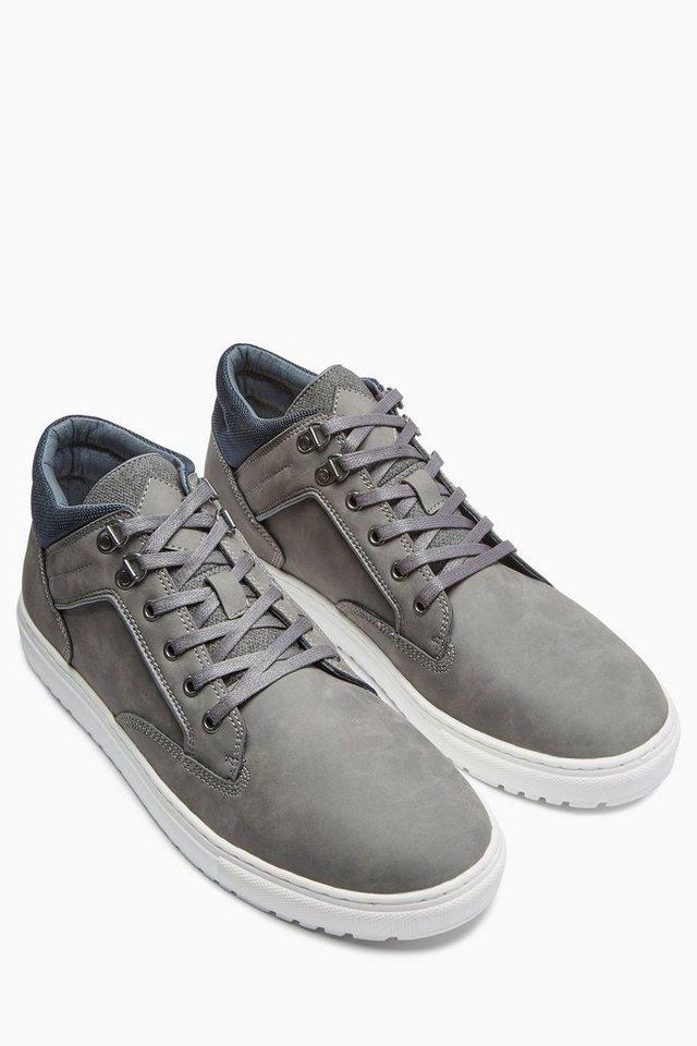 Next Mittelhoher Stiefel in Grey