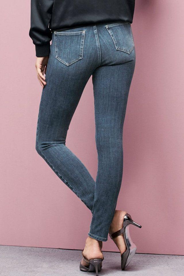 Next 360° Super Skinny-Jeans in Light Blue