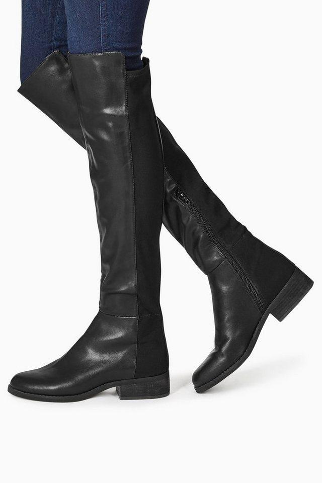 Next Overknee-Stiefel in Black