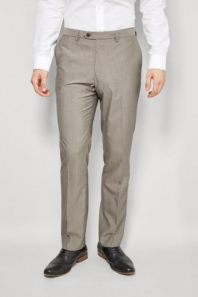 Next Hose mit Flatfront in Taupe Slim Fit