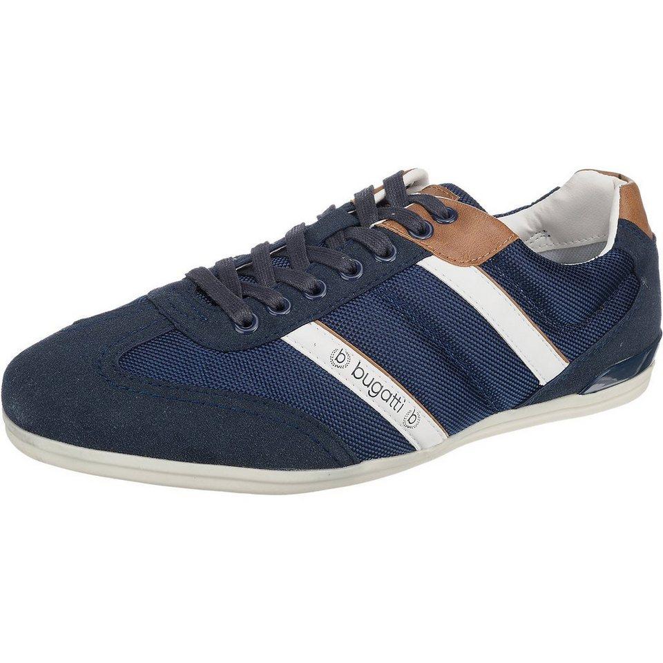 bugatti Sneakers in blau-kombi