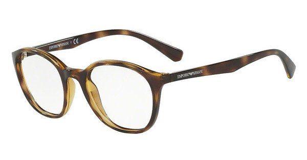 Emporio Armani Damen Brille » EA3079«, braun, 5026 - braun