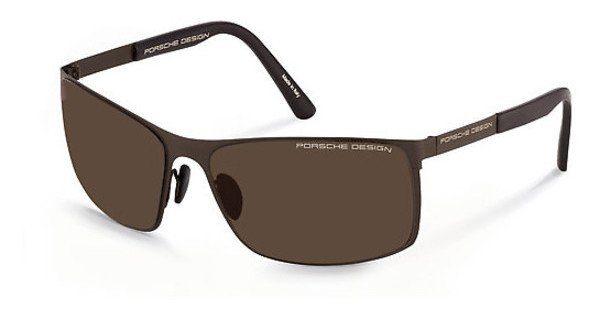 PORSCHE Design Porsche Design Herren Sonnenbrille » P8566«, schwarz, F - schwarz/silber