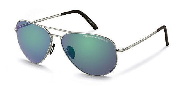 PORSCHE Design Porsche Design Herren Sonnenbrille » P8508«, grau, B - grau/braun