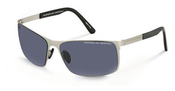 PORSCHE Design Porsche Design Herren Sonnenbrille » P8566«, grau, A - grau/grau