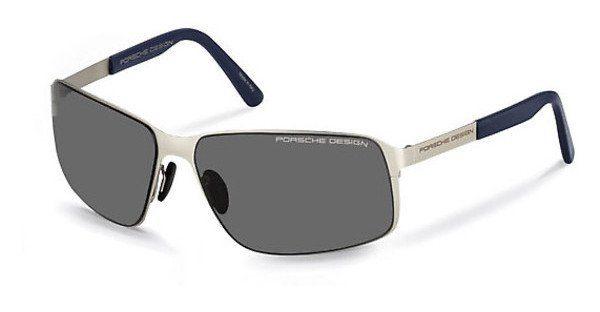 PORSCHE Design Porsche Design Herren Sonnenbrille » P8565«, schwarz, A - schwarz/grün