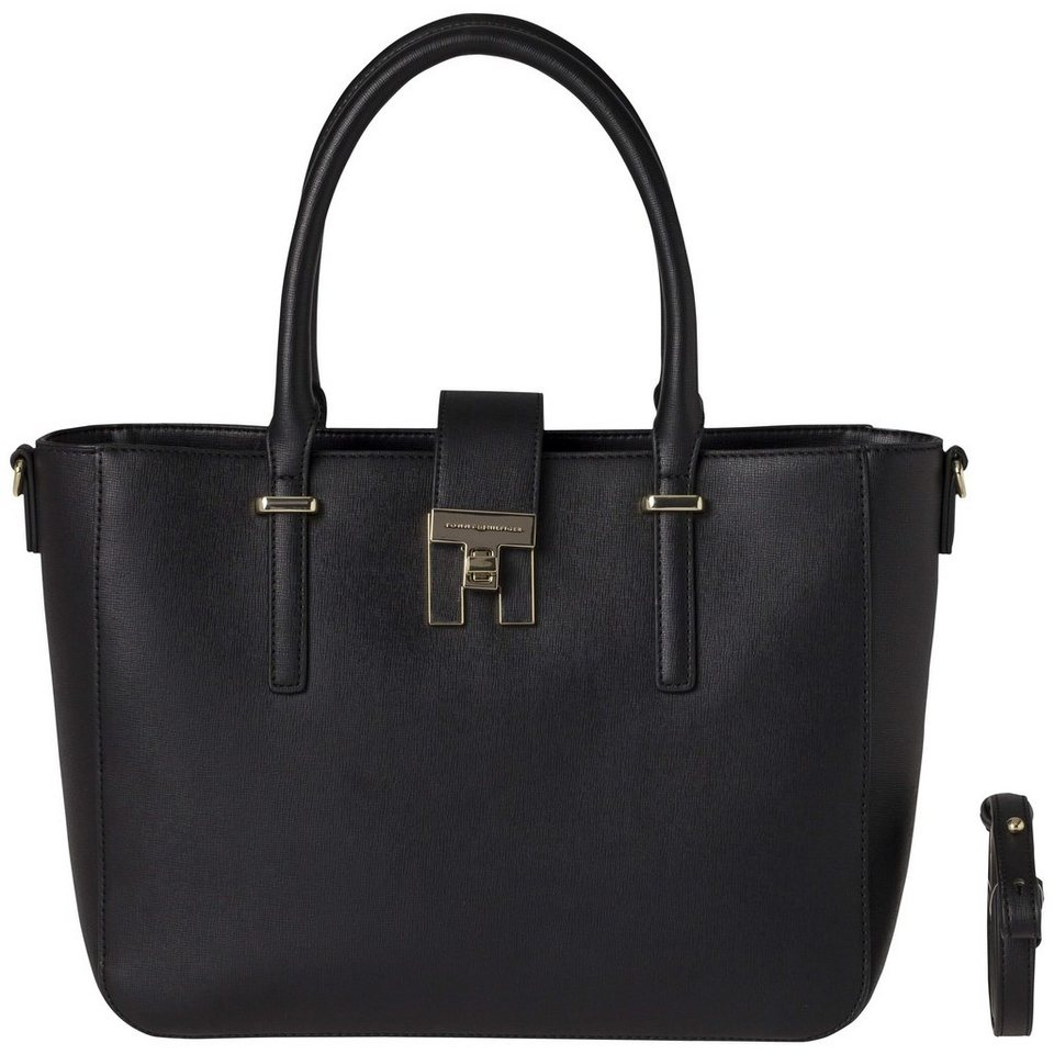 tommy hilfiger handtasche th heritage tote otto. Black Bedroom Furniture Sets. Home Design Ideas