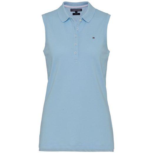 Tommy Hilfiger Poloshirt »NEW CHIARA STR PQ POLO NS«
